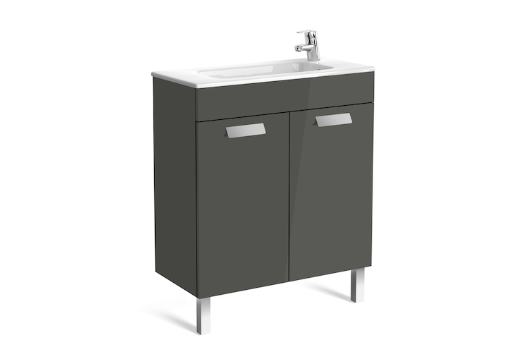 Debba Unik (base unit with two drawers and basin)