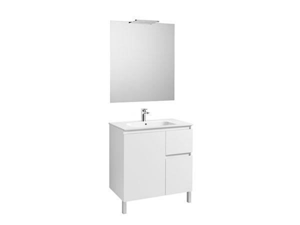Anima Pack (móvel, lavatório, espelho e aplique LED)