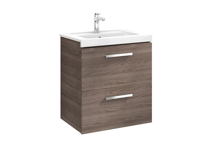 Prisma Unik (base unit with two drawers and basin)