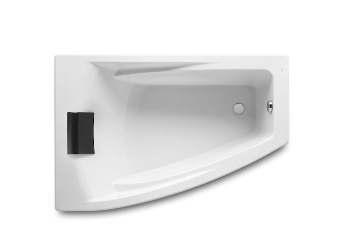 Hall Symmetrical acrylic corner bath