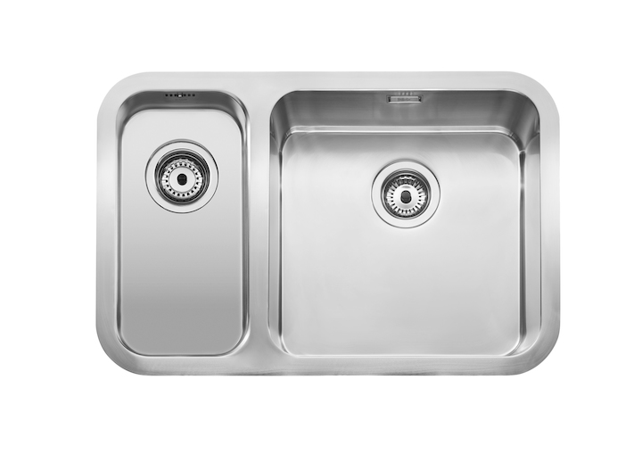 Berlin sink with 2 bowls
