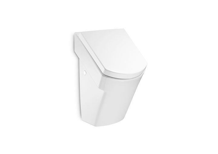 Hall urinal with cover