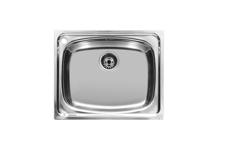 P sink with 1 bowl