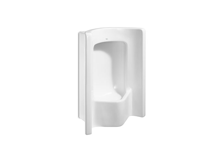 Site front urinal